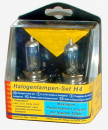 1 x Halogenlampen Set H4 Blue Light 12Volt Maximum Performance (2 Glühlampen)
